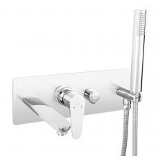 Смеситель ALGEO для ванны настенный скрытого монтажа Ferro BAG11P