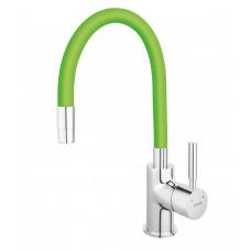 Смеситель для кухни ZUMBA зеленый Ferro BZA4G