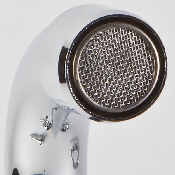 Смеситель для ванны двухвентильный с длинным изливом Ferro Retro XR11A