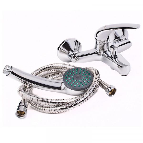 Смеситель для ванны с душевым гарнитуром Ferro Vasto BVA11