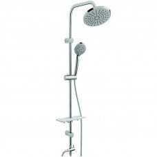 Душевой набор с верхним душем Ferro Rondo Lux NP23