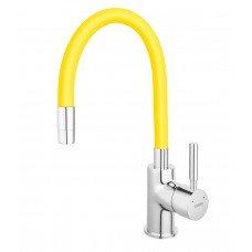 Смеситель для кухни ZUMBA желтый Ferro BZA4C