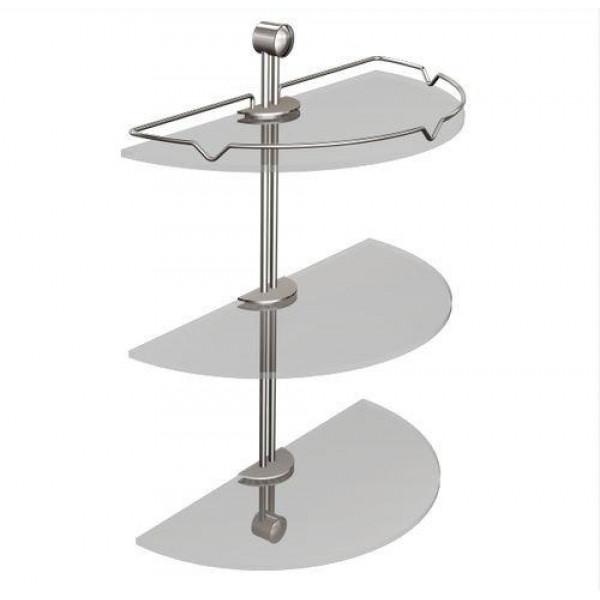 Полка в ванную овальная Andex Classic 036/CC