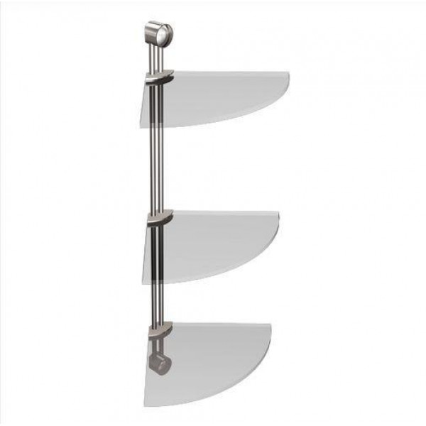 Полка в ванную угловая Andex Classic 035/CC