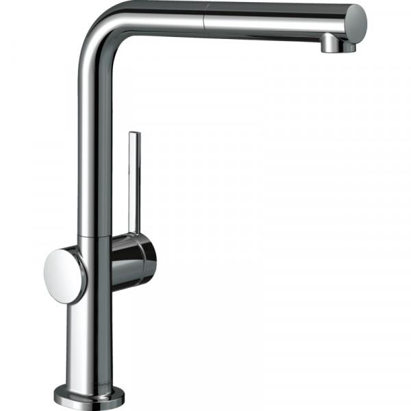 Кухонный смеситель с вытяжным изливом Hansgrohe Talis M54 72808000