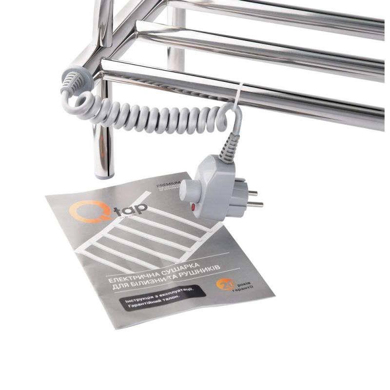 Полка электрическая для обуви Q-tap Lugano CRM P1 250x650 2