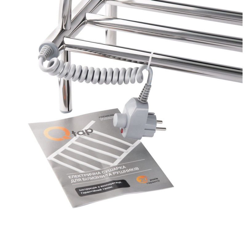 Полка электрическая для обуви Q-tap Lugano CRM P2 500x650 2