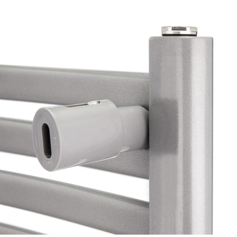 Водяной полотенцесушитель Q-tap Dias (SIL) P18 1000x500 HY 8