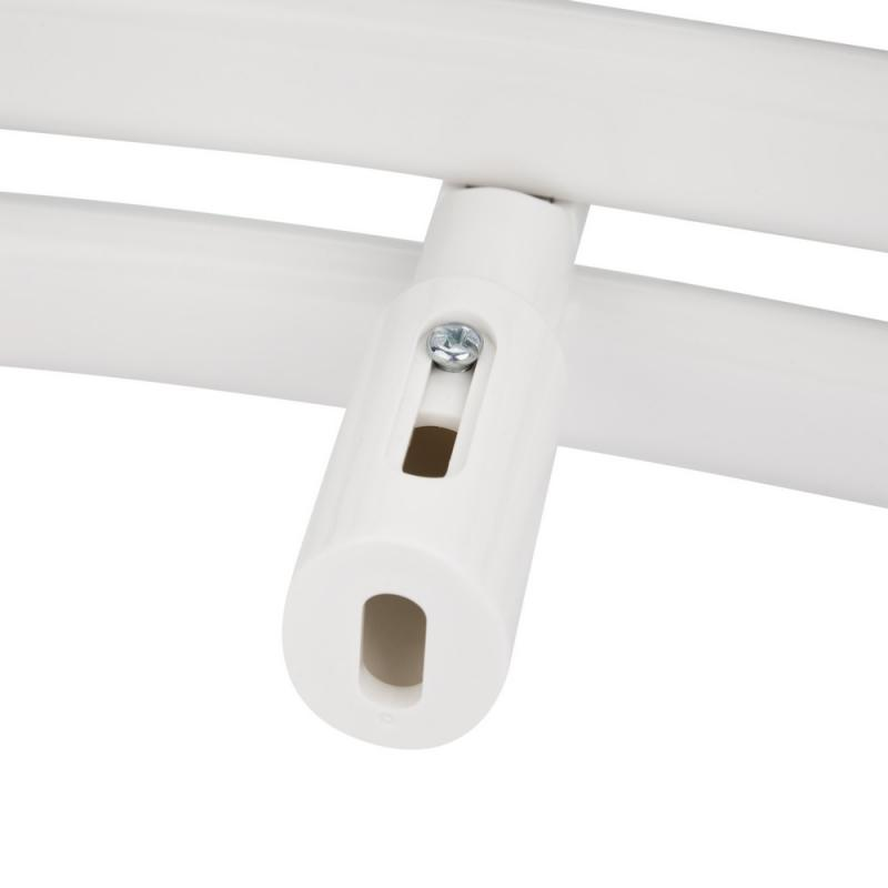 Водяной полотенцесушитель Q-tap Dias (WHI) P18 1000x500 HY 6