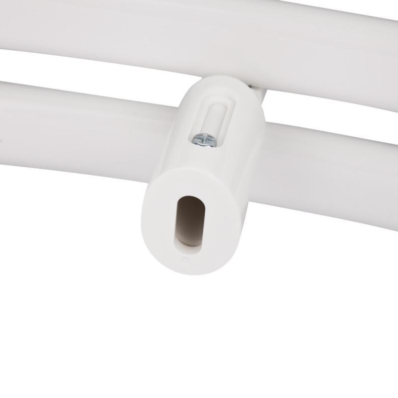 Водяной полотенцесушитель Q-tap Dias (WHI) P21 1200x600 HY 5