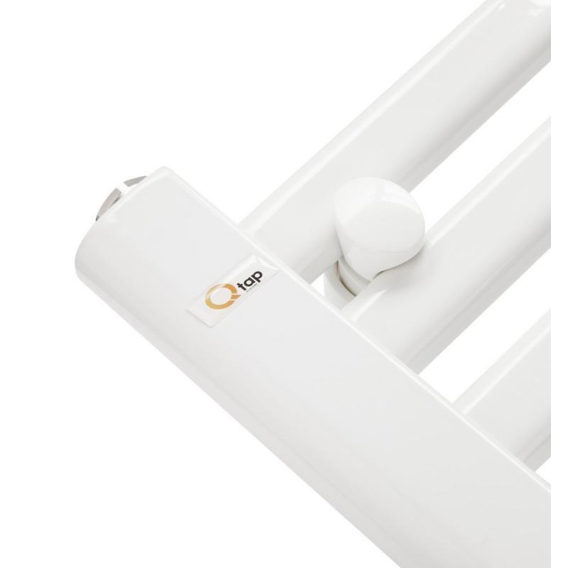 Водяной полотенцесушитель Q-tap Dias (WHI) P21 1200x600 HY 2
